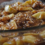 fried apple oatmea