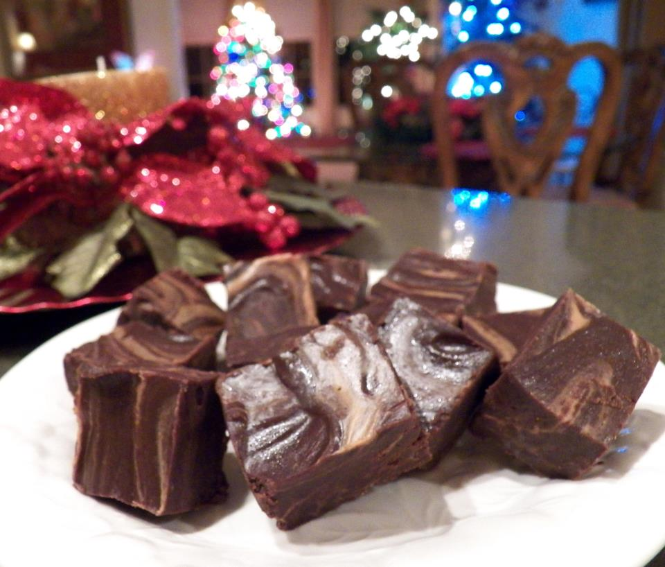 LEFTOVER CHOCOLATE SAUCE INTO FUDGE