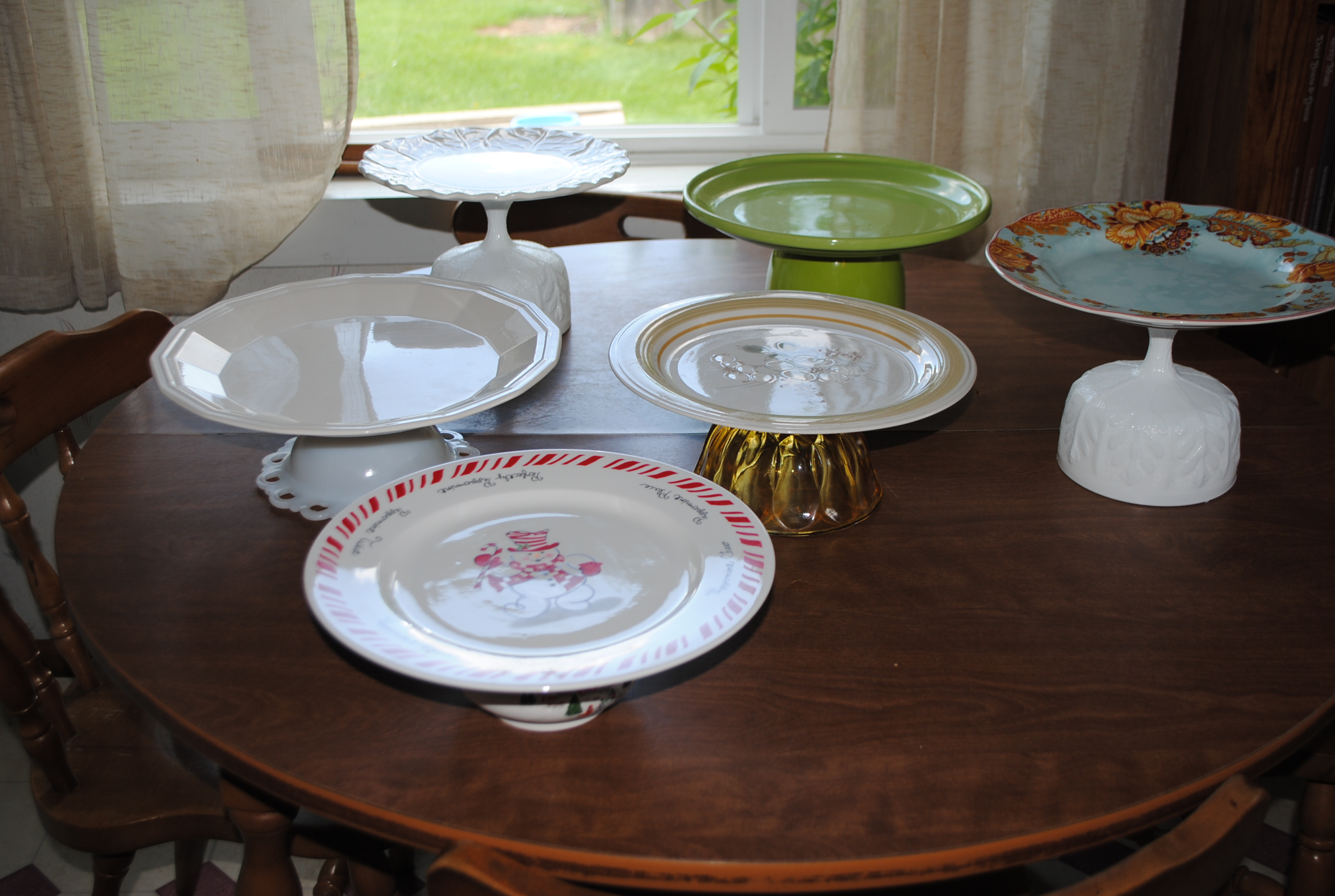 How to make a pretty homemade cake stand for Pretty cake stands
