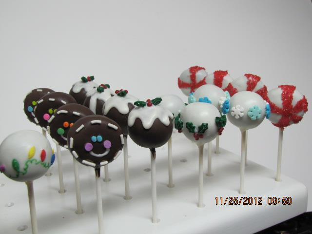 Cake Pop Decorating Made Easy : CHRISTMAS CAKE POP DECORATING IDEAS
