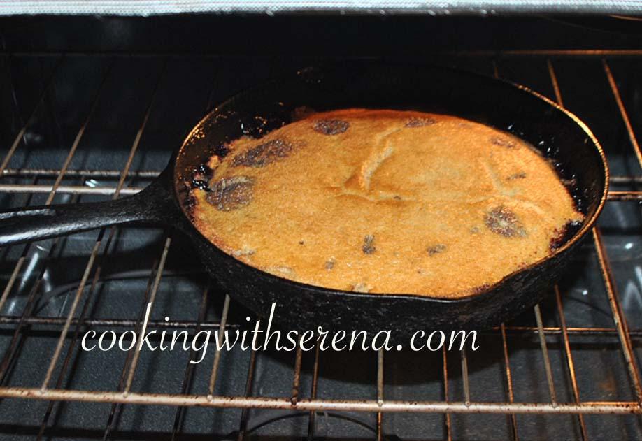 Mooreorlesscooking    Upside Down Peach Cake