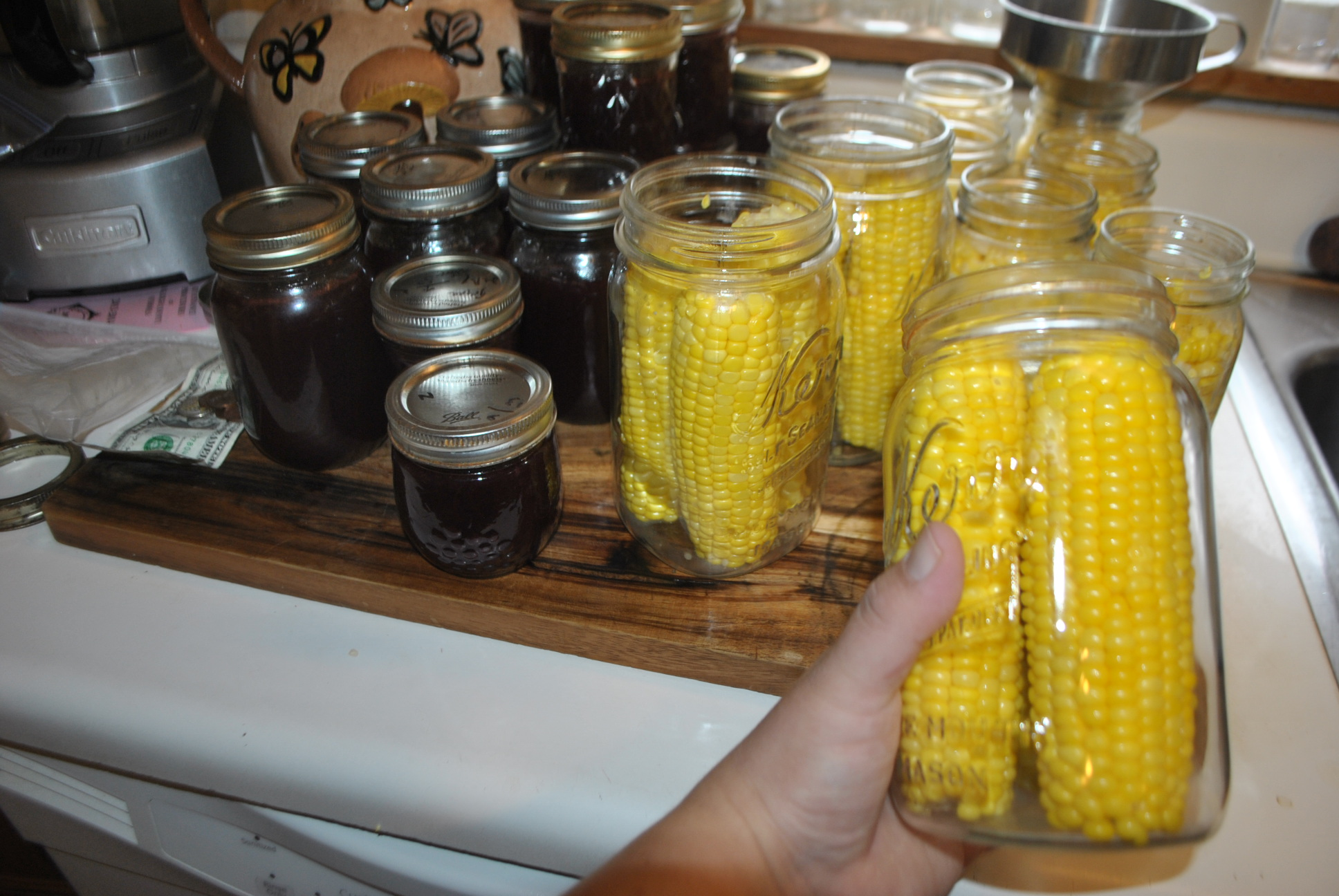 how to eat pickled corn