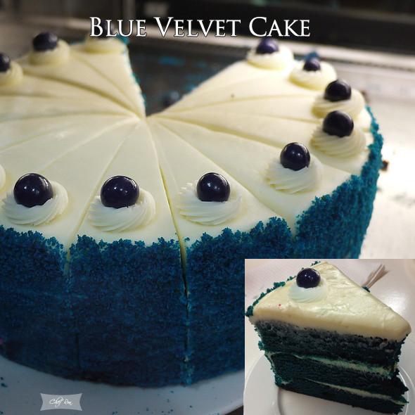 Images Of Blue Velvet Cake : BLUE VELVET CAKE