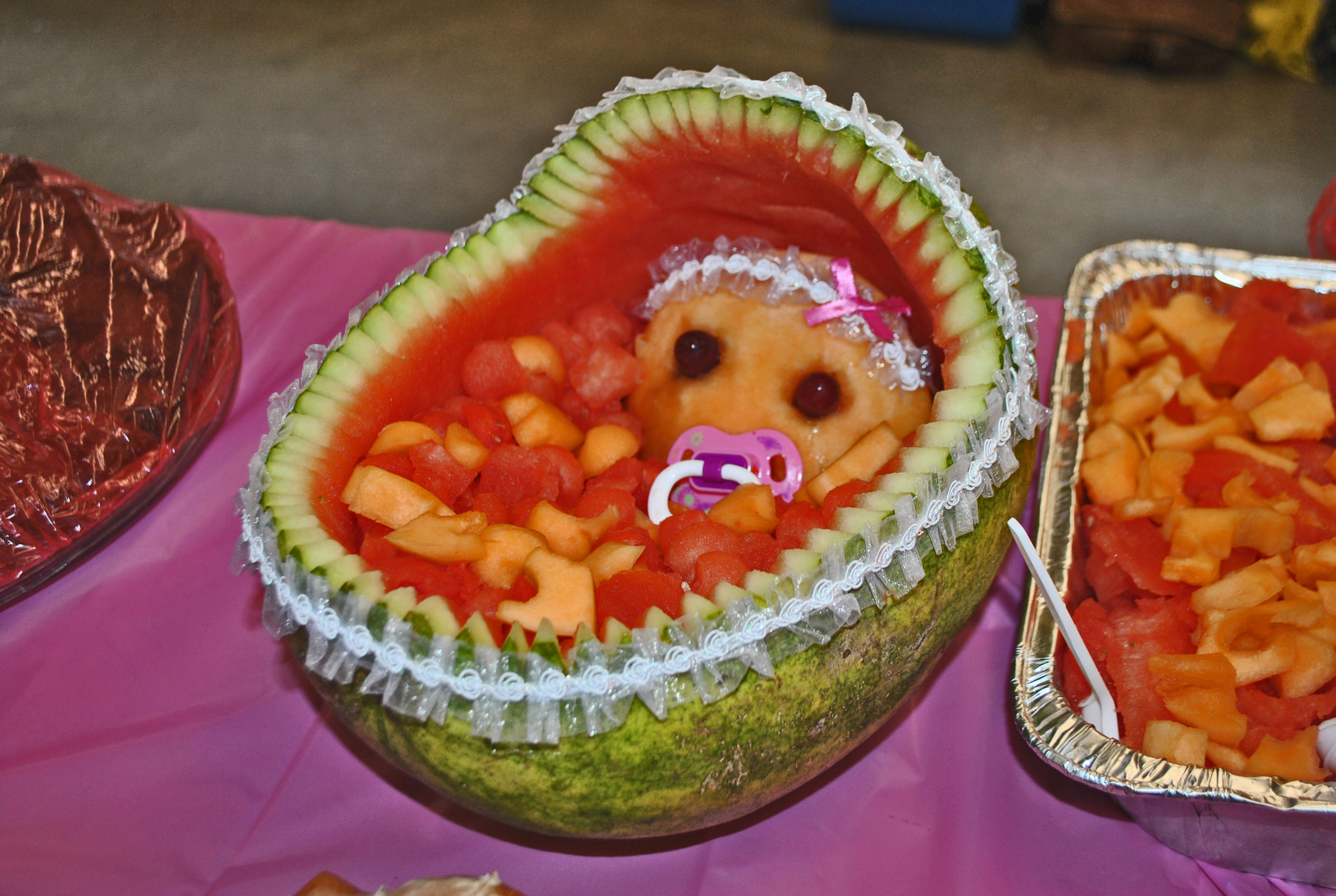 Baby Shower Watermelon Fruit Baskets Submited Images