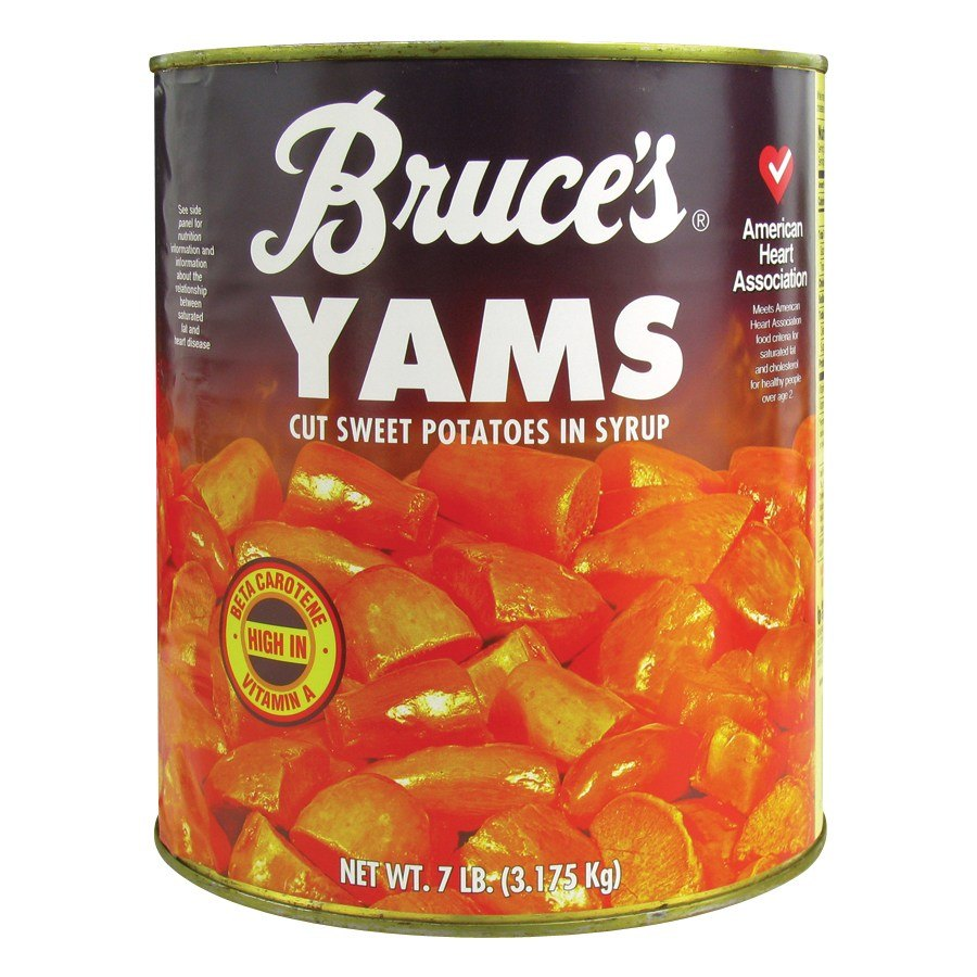 how to cook canned yams
