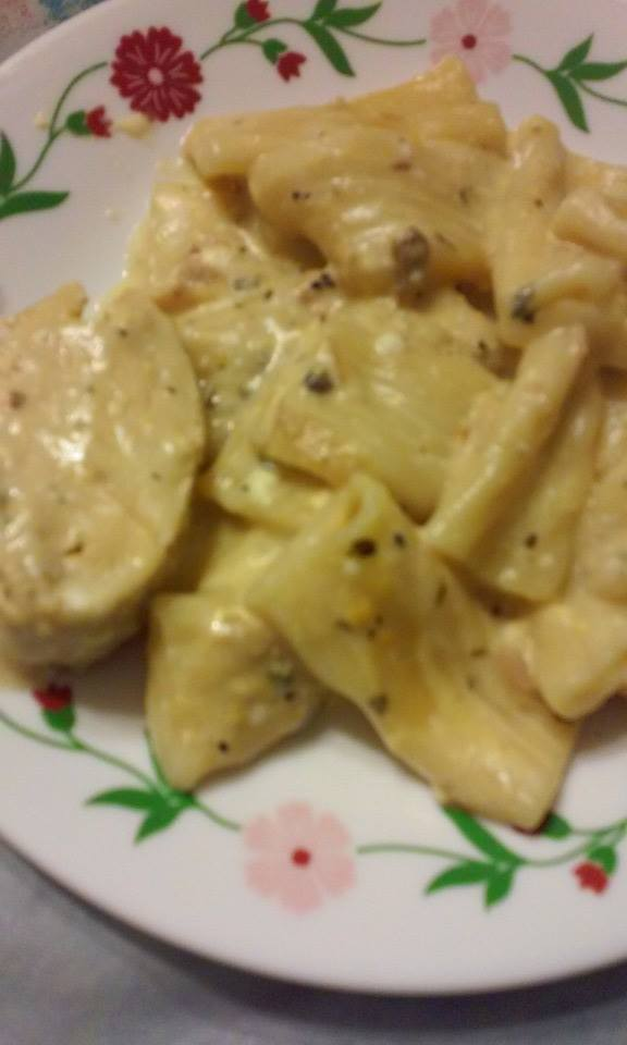 Pressure cooker tuna casserole Tuna and philadelphia pasta